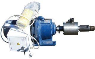 Принцип работы мотора редуктора для буровой установки
