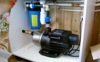 Выбор и установка насосов для воды в квартиру