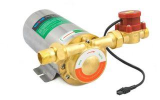 Подкачивающий насос для воды: способ и сфера применения