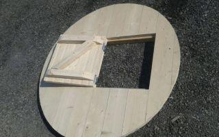 Как самостоятельно изготовить крышку на колодец?