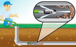 Технология откачки и чистки канализации