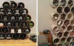 Полки из остатков труб