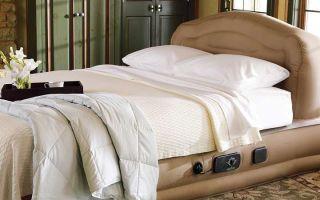 Как выбирать насос для надувного матраса?