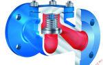 Типу трубопроводной арматуры относятся обратные клапаны