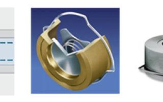 Запорные арматуры обратные клапана