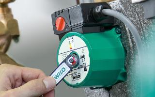 Правила ремонта циркуляционных насосов wilo