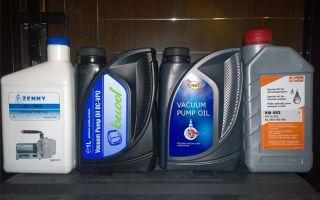 Масло для вакуумных насосов: виды, характеристики, применение