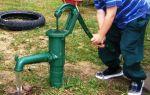 Самодельный ручной насос с пластиковой трубы