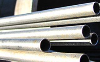 Труба стальная нержавеющая 12х18н10т