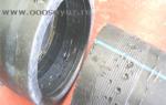 Сварные соединения полиэтиленовых труб между собой подвергают внешнему осмотру