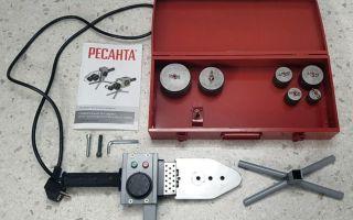 Сварочный аппарат термический для полипропиленовых труб