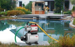 Выбираем поверхностный насос для водоснабжения