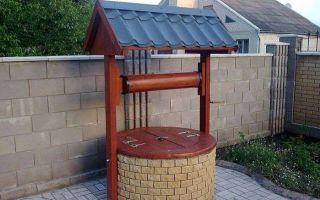 Как обустроить бетонный колодец в частном доме?