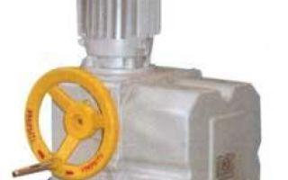 Устройство электропривода запорной арматуры