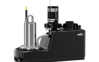 Обзор насосного оборудования wilo drainlift