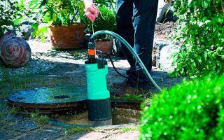 Как правильно подобрать насос для грязной воды?
