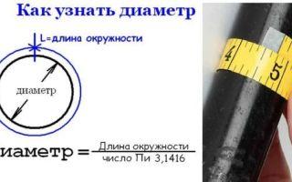 Самый маленький диаметр металлической трубы