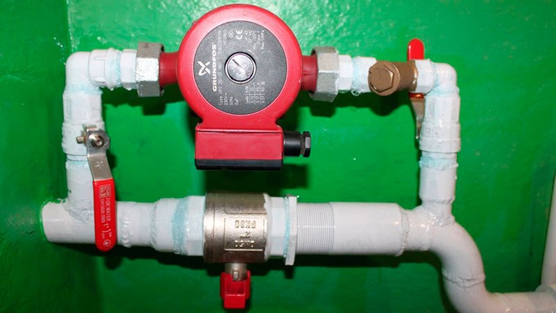 Установка насосов в системе отопления. Установка насоса в систему отопления