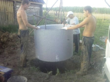 Как выкопать колодец своими руками без колец