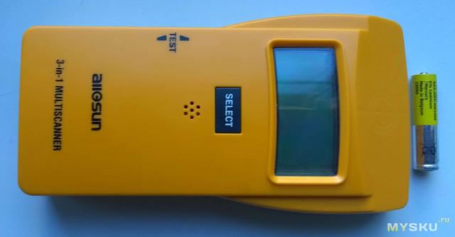 Сканер для поиска пластиковых труб