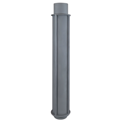 Труба чугунная дымоходная 200