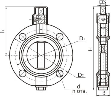 Запорная арматура для трансформаторов