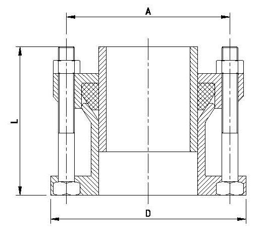 Фланец адаптер для чугунных труб