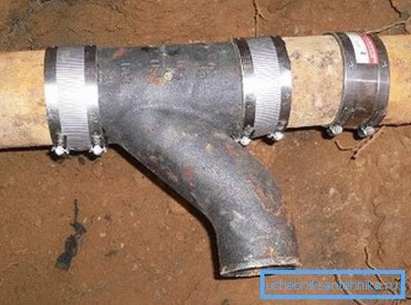 Труба чугунная водопроводная напорная диаметр