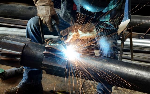 Сварка стальных трубопроводов с муфтами
