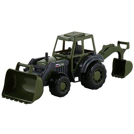 Трактор с трубой детский