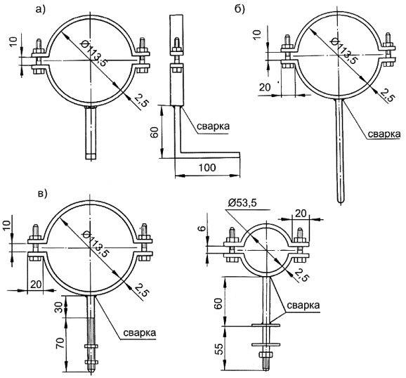 Как крепить ппр трубы