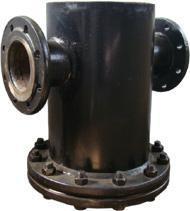 Грязевики из стальных труб наружным диаметром входного патрубка