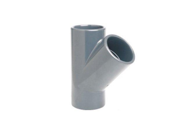 Тройники соединительные для труб пвх