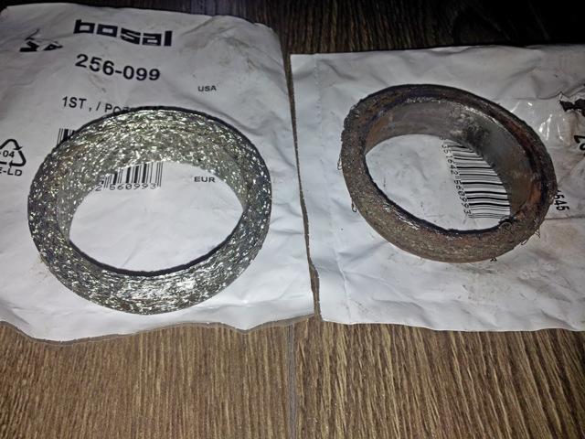 Свистит кольцо приемной трубы