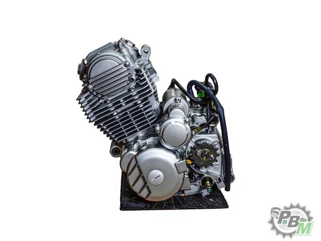 Двигатель 4х такт 250 см3 165fmм cb250 с балансирным валом falcon250 2е трубы