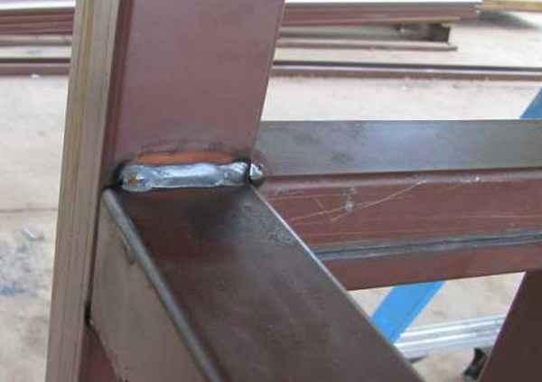 Сварка профильной трубы встык вертикально