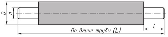 Труба 530х9 в изоляции