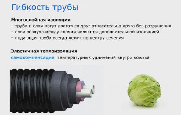 Труба упонор для отопления технические характеристики