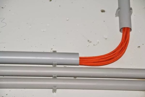 Трубная электропроводка стальные трубы правила