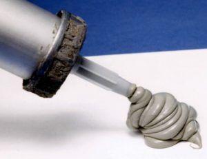 Силикон стыки пластиковых труб