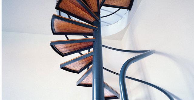 Сечение трубы для металлической лестницы