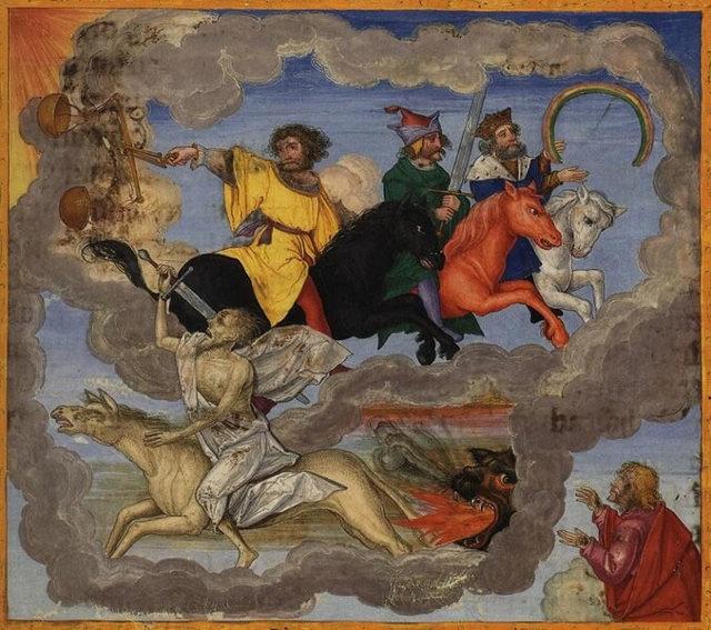 Семь ангелов трубят в трубы