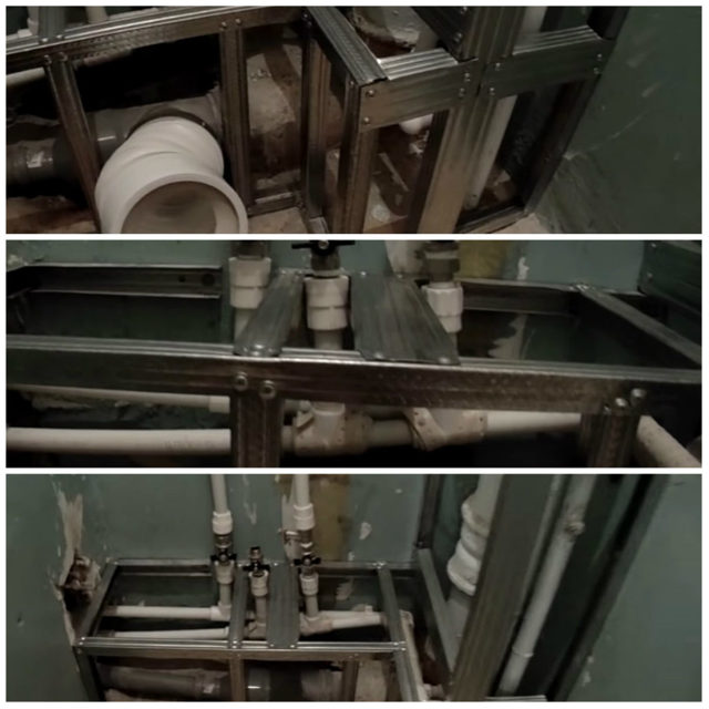 Декоративные панели для скрытия труб