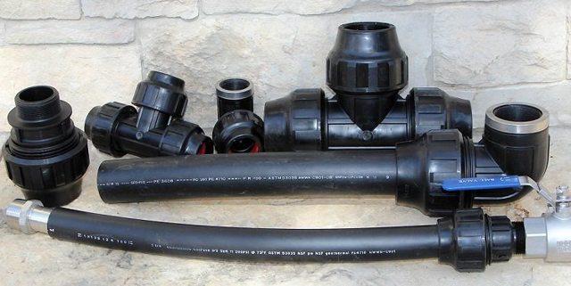 Полиэтиленовые трубы способ монтажа