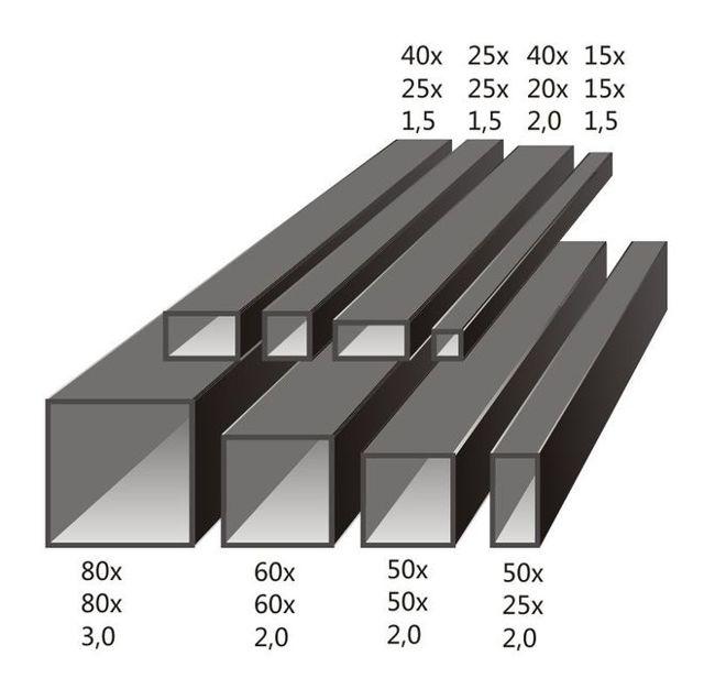 Толщина профильной трубы для металлической лестницы