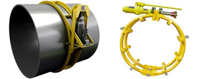 Ручной центратор для труб