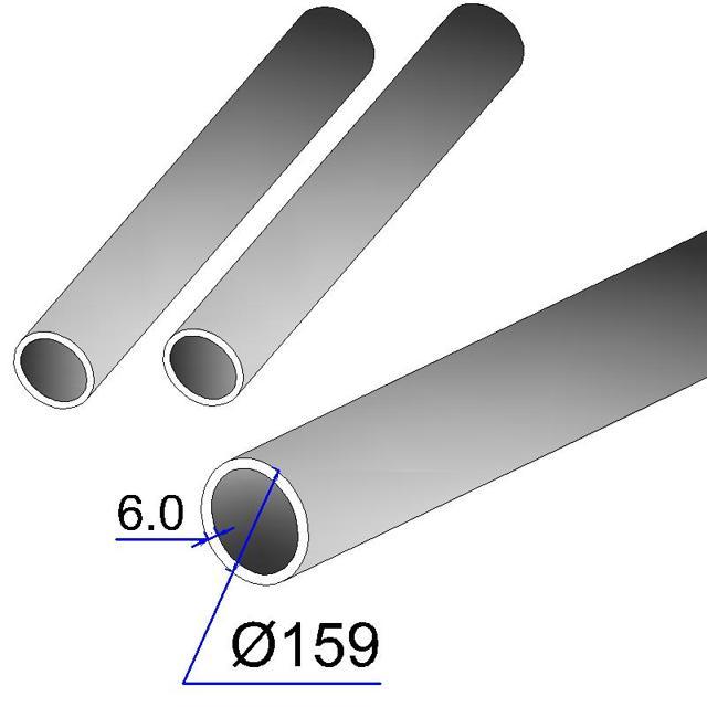 Труба 159 вес одной трубы