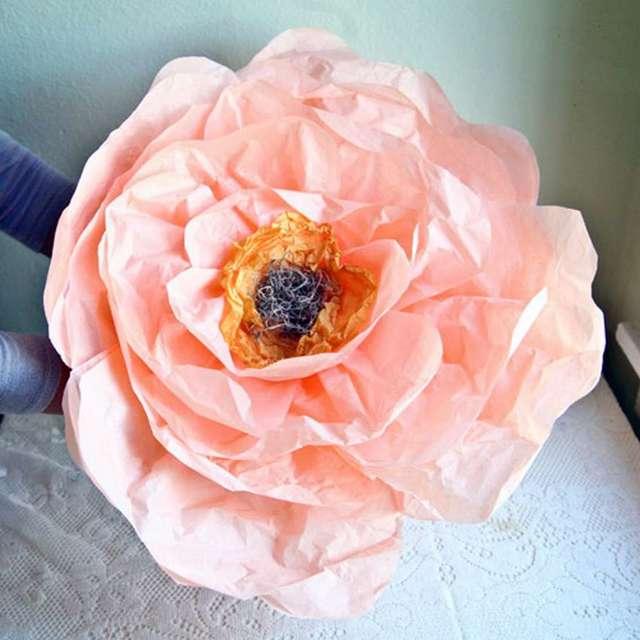 Как закрутить трубу для ростовых цветов