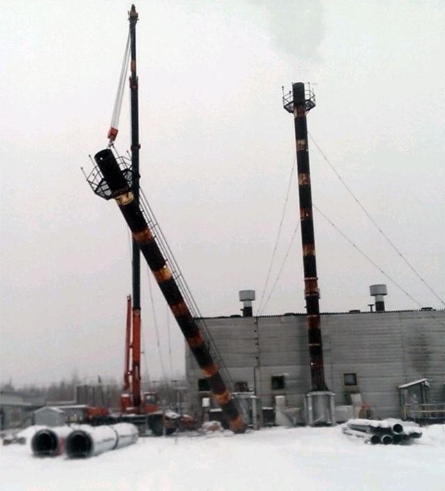 Демонтаж технологического трубопровода ппр