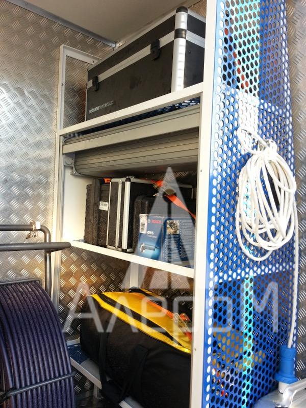 Автомобиль лаборатория телеинспекции трубопроводов